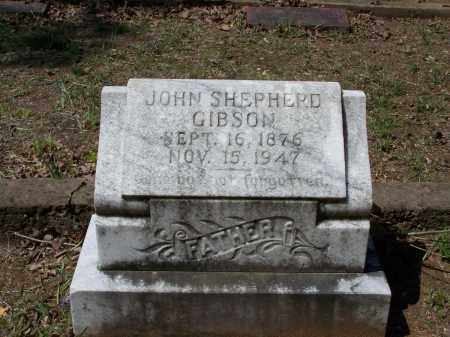 "GIBSON, JOHN SHEPHERD ""SHEP"" - Lawrence County, Arkansas 