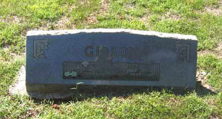 "GIBSON, JACOB W. ""JAKE"" - Lawrence County, Arkansas 