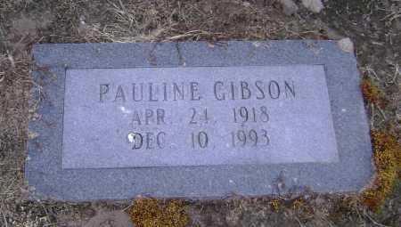 GIBSON, PAULINE - Lawrence County, Arkansas | PAULINE GIBSON - Arkansas Gravestone Photos