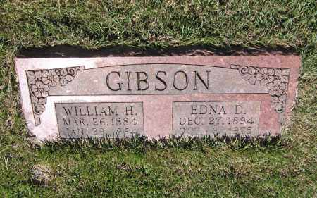 GIBSON, WILLIAM HENRY - Lawrence County, Arkansas | WILLIAM HENRY GIBSON - Arkansas Gravestone Photos