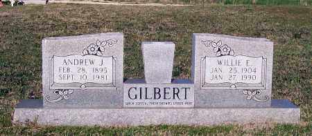 GILBERT, WILLIE EMMALINE - Lawrence County, Arkansas | WILLIE EMMALINE GILBERT - Arkansas Gravestone Photos