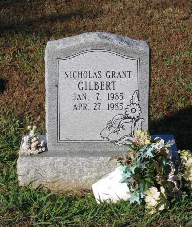 GILBERT, NICHOLAS GRANT - Lawrence County, Arkansas | NICHOLAS GRANT GILBERT - Arkansas Gravestone Photos