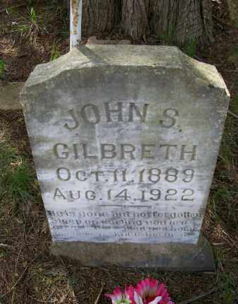 GILBRETH, JOHN SAMUEL - Lawrence County, Arkansas | JOHN SAMUEL GILBRETH - Arkansas Gravestone Photos