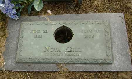 GILL, NOVA - Lawrence County, Arkansas | NOVA GILL - Arkansas Gravestone Photos