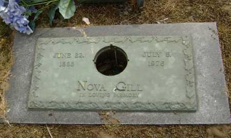 GILL, NOVA - Lawrence County, Arkansas   NOVA GILL - Arkansas Gravestone Photos