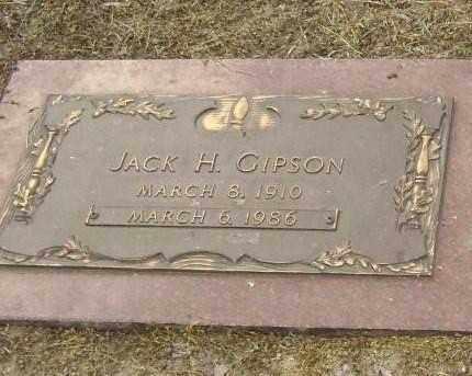 GIPSON, JACK H. - Lawrence County, Arkansas | JACK H. GIPSON - Arkansas Gravestone Photos