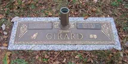GIRARD, ARTHUR ELMER - Lawrence County, Arkansas | ARTHUR ELMER GIRARD - Arkansas Gravestone Photos