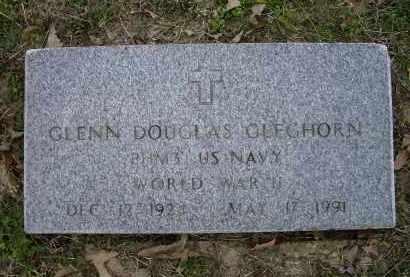 GLEGHORN, SR (VETERAN WWII), GLENN DOUGLAS - Lawrence County, Arkansas | GLENN DOUGLAS GLEGHORN, SR (VETERAN WWII) - Arkansas Gravestone Photos
