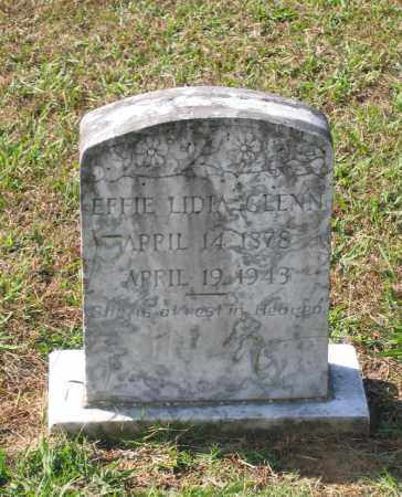 GLENN, EFFIE LIDIA - Lawrence County, Arkansas | EFFIE LIDIA GLENN - Arkansas Gravestone Photos