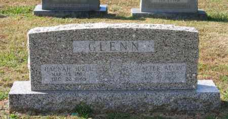 GLENN, WALTER ALVIN - Lawrence County, Arkansas | WALTER ALVIN GLENN - Arkansas Gravestone Photos