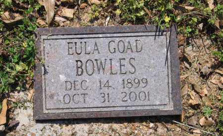 GOAD BOWLES, EULA MCLAUGHLIN - Lawrence County, Arkansas | EULA MCLAUGHLIN GOAD BOWLES - Arkansas Gravestone Photos