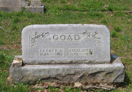 "GOAD, CALISTA ANGELINE ""ANGIE"" - Lawrence County, Arkansas 
