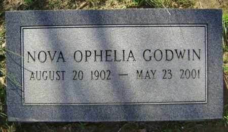 GODWIN, NOVA OPHELIA - Lawrence County, Arkansas | NOVA OPHELIA GODWIN - Arkansas Gravestone Photos