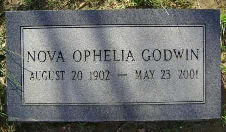 GODWIN, NOVA OPHELIA - Lawrence County, Arkansas | NOVA OPHELIA GODWIN - Arkansas Gravestone Photos