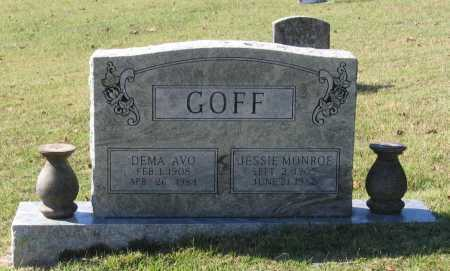 GOFF, DEMA AVO - Lawrence County, Arkansas | DEMA AVO GOFF - Arkansas Gravestone Photos