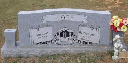GOFF, WEBSTER CONWAY - Lawrence County, Arkansas | WEBSTER CONWAY GOFF - Arkansas Gravestone Photos