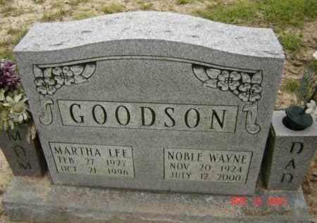 LAYNE GOODSON, MARTHA LEE - Lawrence County, Arkansas | MARTHA LEE LAYNE GOODSON - Arkansas Gravestone Photos