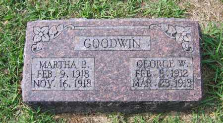 GOODWIN, MARTHA B. - Lawrence County, Arkansas | MARTHA B. GOODWIN - Arkansas Gravestone Photos