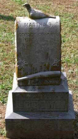 DAWSON GOODWIN, MARTHA BEATTLES - Lawrence County, Arkansas | MARTHA BEATTLES DAWSON GOODWIN - Arkansas Gravestone Photos