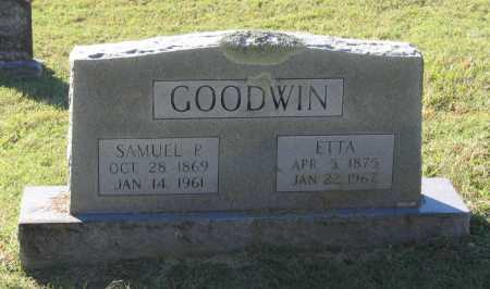 GOODWIN, SARAH DOSIA ETTA - Lawrence County, Arkansas | SARAH DOSIA ETTA GOODWIN - Arkansas Gravestone Photos
