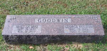 GOODWIN, SR., GEORGE FOLSOM - Lawrence County, Arkansas | GEORGE FOLSOM GOODWIN, SR. - Arkansas Gravestone Photos