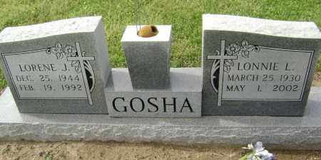 GOSHA, LORENE J. - Lawrence County, Arkansas | LORENE J. GOSHA - Arkansas Gravestone Photos