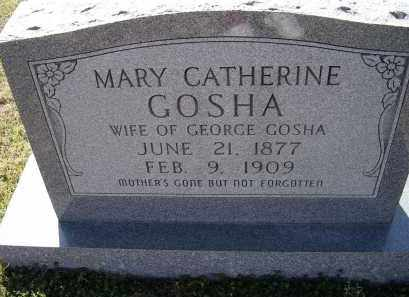 GOSHA, MARY CATHERINE - Lawrence County, Arkansas | MARY CATHERINE GOSHA - Arkansas Gravestone Photos
