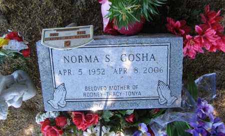 GOSHA, NORMA SUE - Lawrence County, Arkansas | NORMA SUE GOSHA - Arkansas Gravestone Photos