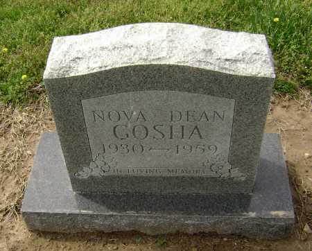 GOSHA, NOVA DEAN - Lawrence County, Arkansas | NOVA DEAN GOSHA - Arkansas Gravestone Photos