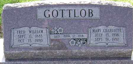 GOTTLOB, MARY CHARLOTTE - Lawrence County, Arkansas | MARY CHARLOTTE GOTTLOB - Arkansas Gravestone Photos