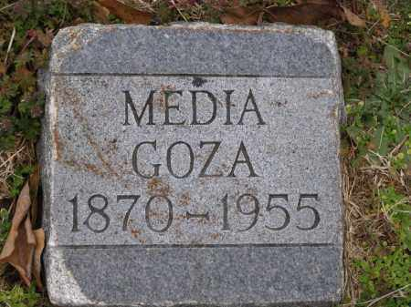 "GOZA, ALMEDIA LOUISE ""MEDIA"" - Lawrence County, Arkansas 