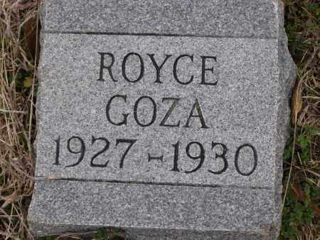 GOZA, CLETOS ROYCE - Lawrence County, Arkansas | CLETOS ROYCE GOZA - Arkansas Gravestone Photos