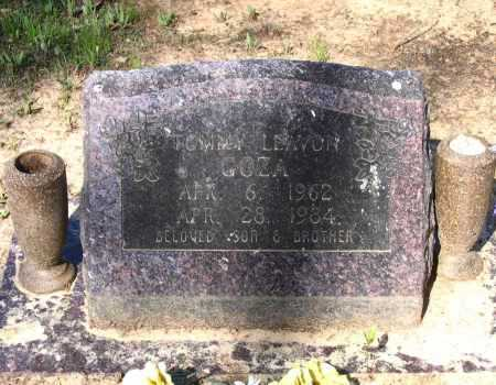 GOZA, TOMMY LEAVON - Lawrence County, Arkansas | TOMMY LEAVON GOZA - Arkansas Gravestone Photos