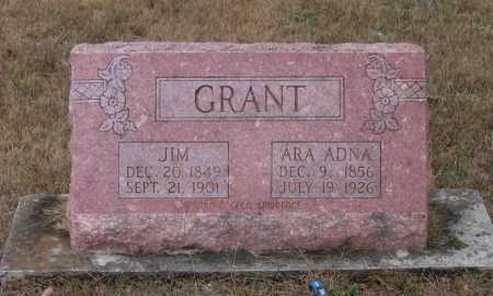 "GRANT, JAMES ""JIM"" - Lawrence County, Arkansas 