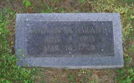 GRANT, MARANDA - Lawrence County, Arkansas | MARANDA GRANT - Arkansas Gravestone Photos