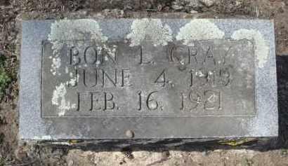 GRAY, BON L. - Lawrence County, Arkansas | BON L. GRAY - Arkansas Gravestone Photos