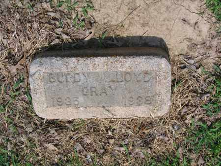 GRAY, BUDDY LLOYD - Lawrence County, Arkansas | BUDDY LLOYD GRAY - Arkansas Gravestone Photos