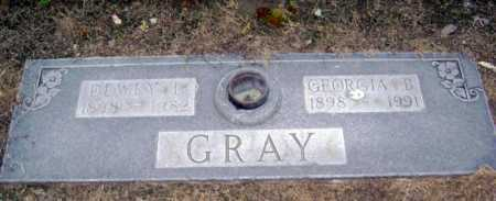 GRAY, GEORGIA B. - Lawrence County, Arkansas | GEORGIA B. GRAY - Arkansas Gravestone Photos