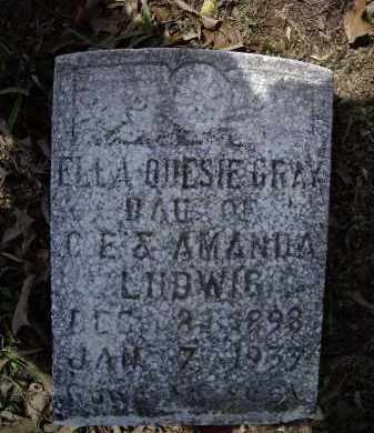 GRAY, ELLA ODESIE - Lawrence County, Arkansas | ELLA ODESIE GRAY - Arkansas Gravestone Photos