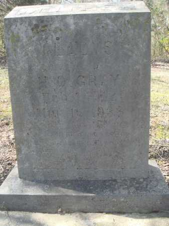GRAY, GLADYS - Lawrence County, Arkansas | GLADYS GRAY - Arkansas Gravestone Photos