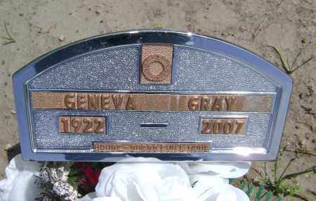 BARR GRAY, GENEVA - Lawrence County, Arkansas | GENEVA BARR GRAY - Arkansas Gravestone Photos