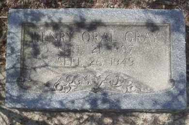 GRAY, HENRY ORAL - Lawrence County, Arkansas | HENRY ORAL GRAY - Arkansas Gravestone Photos
