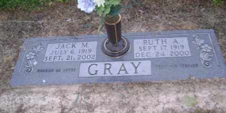 DAVIS GRAY, RUTH ALBERTA - Lawrence County, Arkansas | RUTH ALBERTA DAVIS GRAY - Arkansas Gravestone Photos