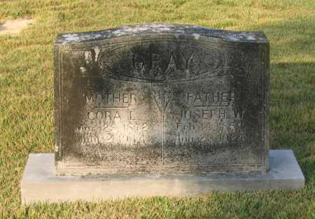 GRAY, JOSEPH W. - Lawrence County, Arkansas | JOSEPH W. GRAY - Arkansas Gravestone Photos