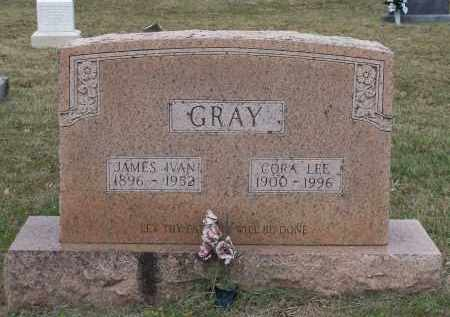 GRAY, JAMES IVAN - Lawrence County, Arkansas | JAMES IVAN GRAY - Arkansas Gravestone Photos