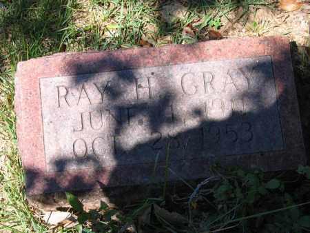 GRAY, RAY HORN - Lawrence County, Arkansas | RAY HORN GRAY - Arkansas Gravestone Photos