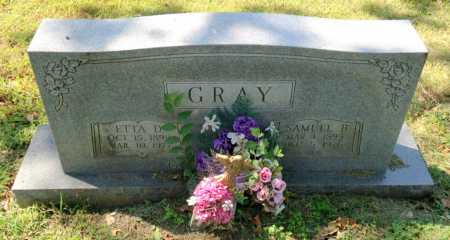 GRAY, ETTA D. - Lawrence County, Arkansas | ETTA D. GRAY - Arkansas Gravestone Photos