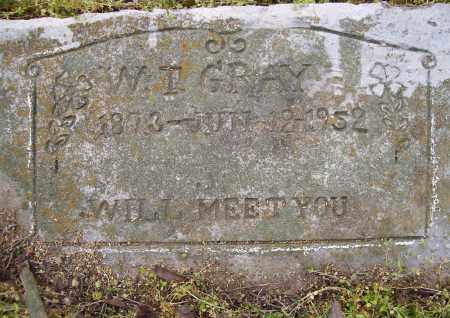 GRAY, W. I. - Lawrence County, Arkansas | W. I. GRAY - Arkansas Gravestone Photos