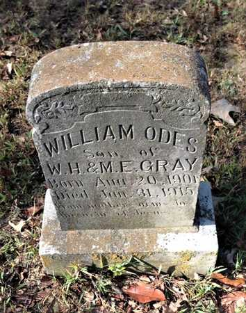 GRAY, WILLIAM ODES - Lawrence County, Arkansas | WILLIAM ODES GRAY - Arkansas Gravestone Photos