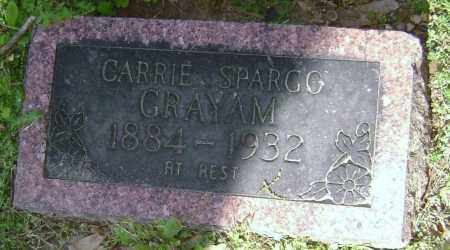 SPARGO GRAYAM, CARRIE - Lawrence County, Arkansas | CARRIE SPARGO GRAYAM - Arkansas Gravestone Photos